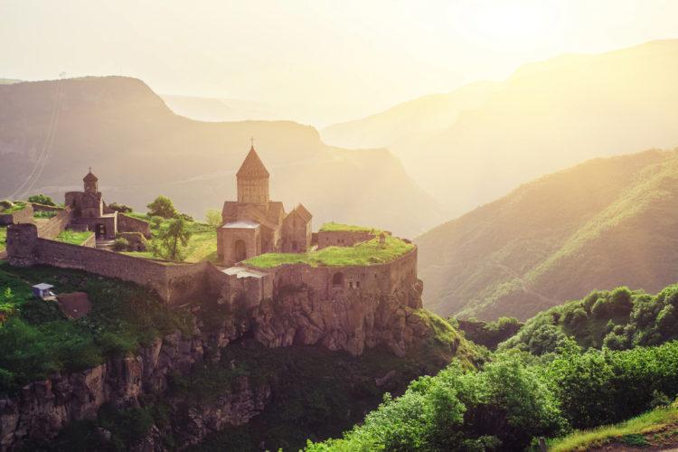 Достопримечательности Армении - Монастырь Татев