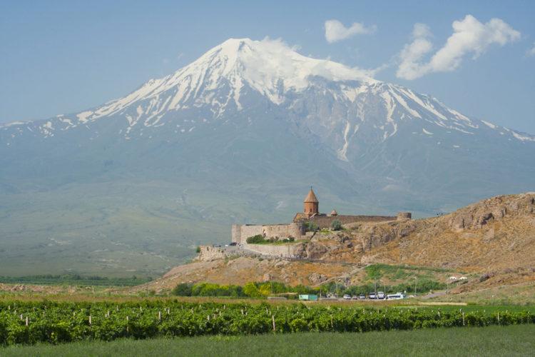 Достопримечательность Армении - Гора Арарат