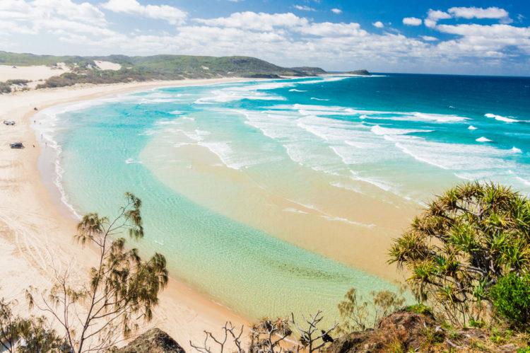 Достопримечательности Австралии - Остров Фрейзер