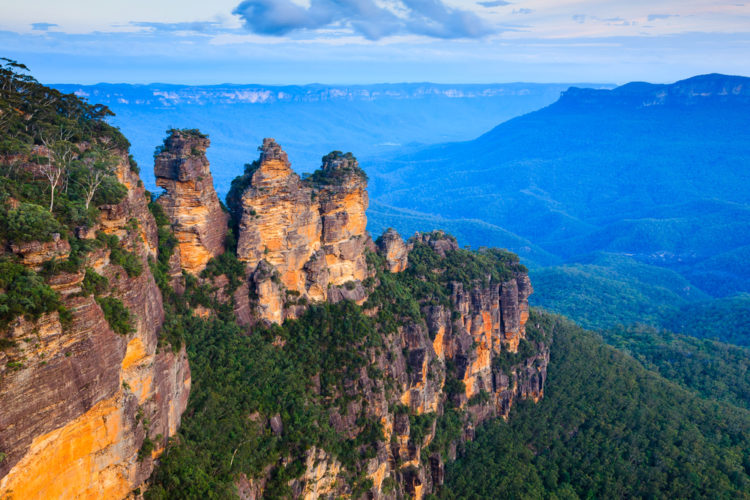 Достопримечательности Австралии - Голубые горы