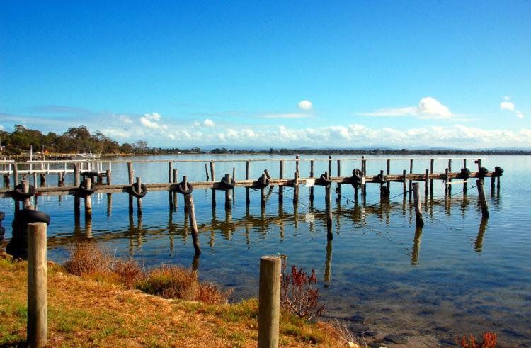 Достопримечательности Австралии - Озеро Гиппсленд