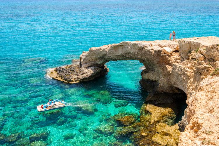 Достопримечательности Кипра - Голубая лагуна Айя-Напа