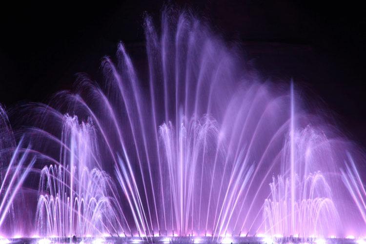 Достопримечательности Кипра - Шоу танцующих фонтанов