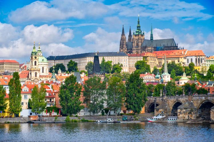 Достопримечательности Чехии - Пражский град