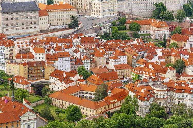 Достопримечательности Чехии - Район Мала-Страна