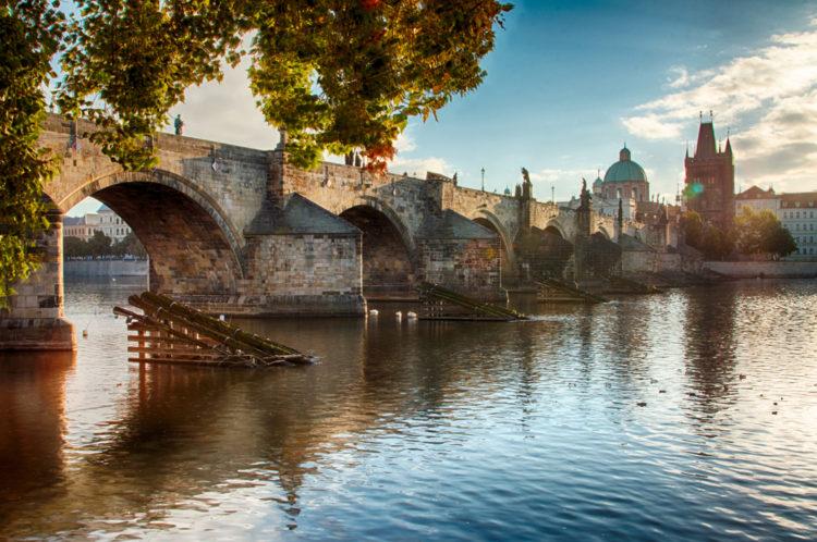 Достопримечательности Чехии - Карлов мост