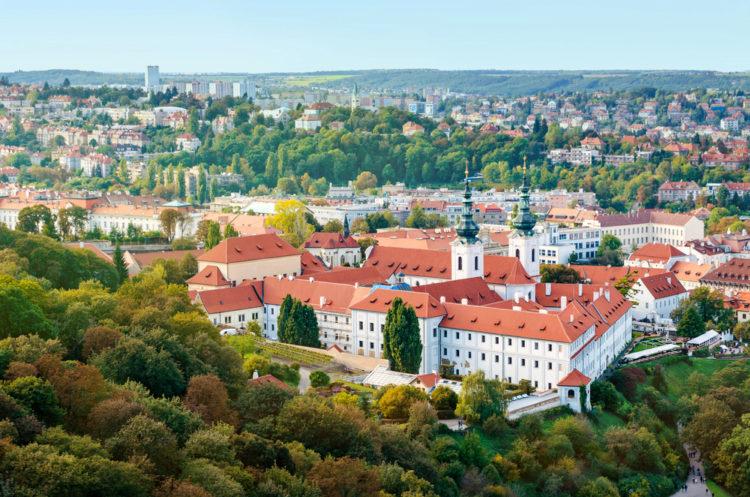 Достопримечательности Чехии - Страговский монастырь