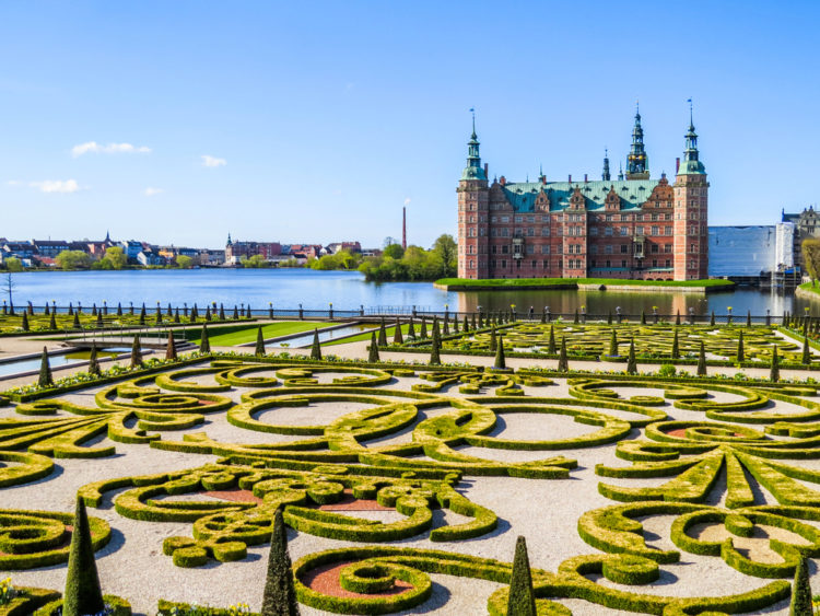 Достопримечательности Дании - Замок Фредериксборг