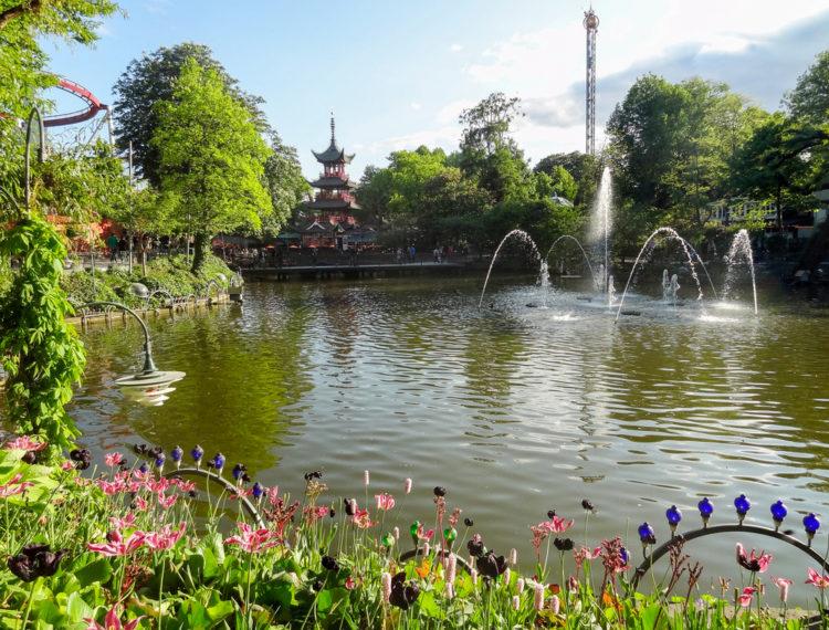 Достопримечательности Дании - Парк Тиволи