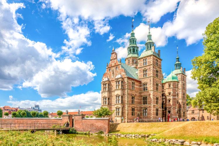 Достопримечательности Дании - Замок Розенборг