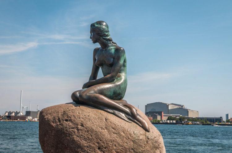 Достопримечательности Дании - Статуя Русалочка