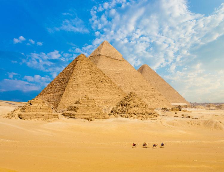 Достопримечательность Египта - Пирамиды Гизы