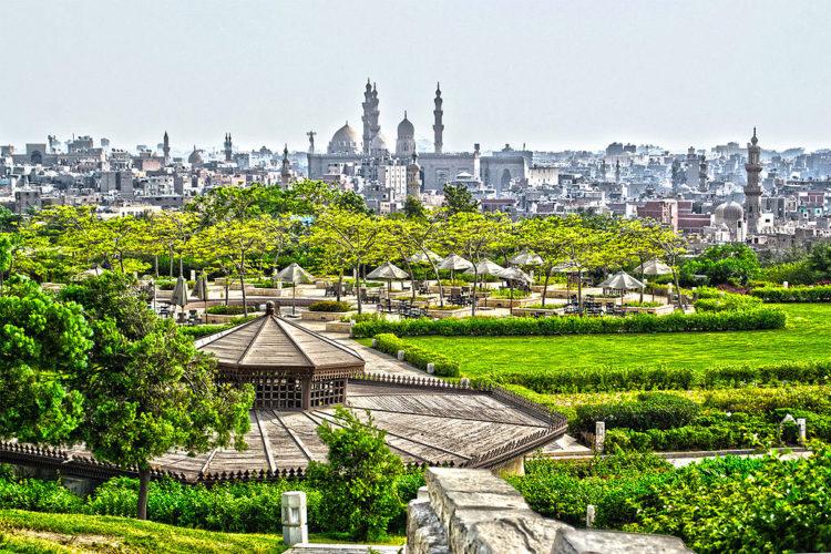 Достопримечательности Египта - Парк Аль-Ажар