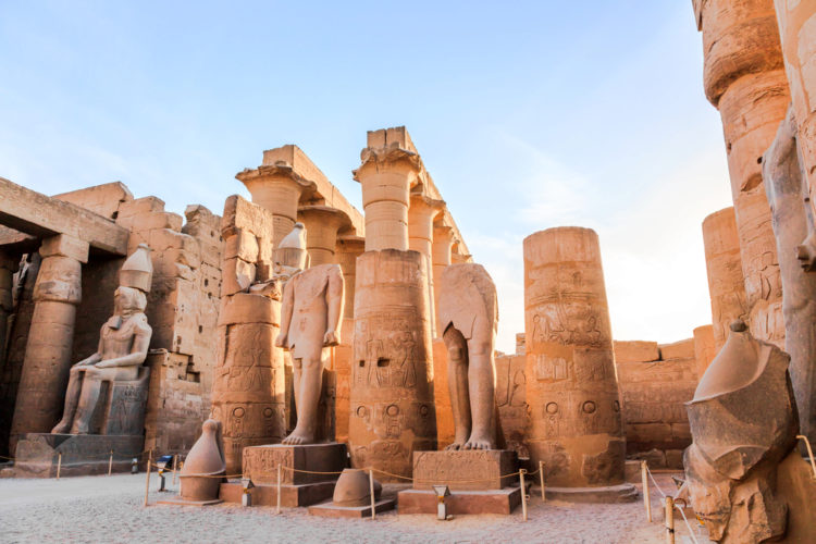 Достопримечательности Египта - Храм Луксора