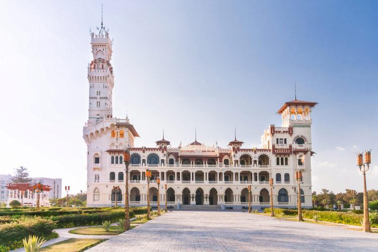 Достопримечательности Египта - Дворец и парк Монтаза