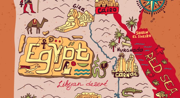 Достопримечательности Египта, что посетить в Египте