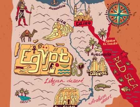 Достопримечательности Египта, их фото и описание