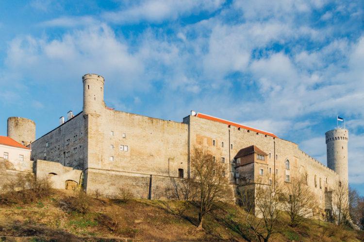 Достопримечательности Эстонии - Замок Тоомпеа