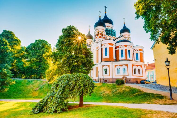 Достопримечательности Эстонии - Собор Александра Невского
