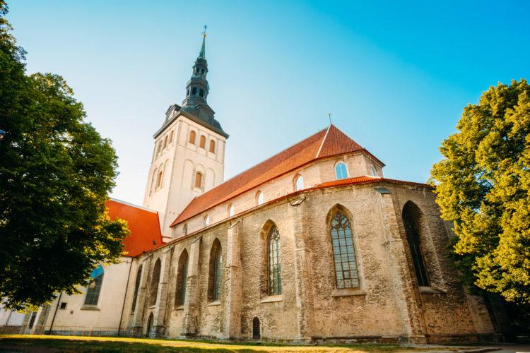 Достопримечательности Эстонии - Церковь Святого Николая