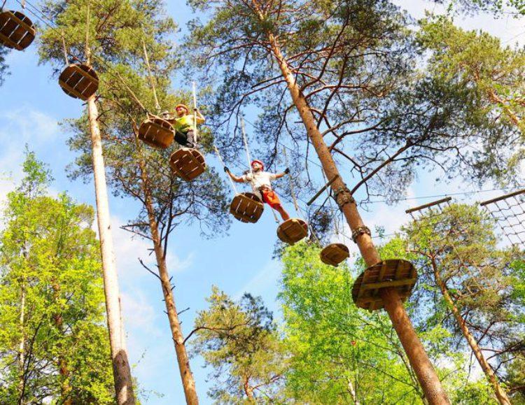 Достопримечательности Финляндии - Верёвочный парк