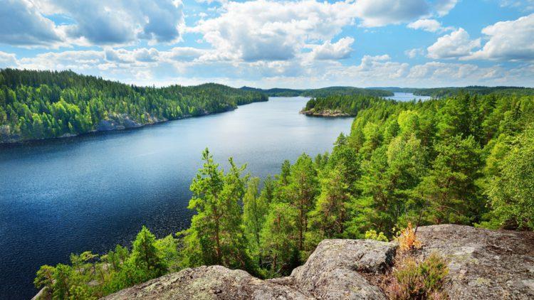 Достопримечательности Финляндии - Озеро Сайма