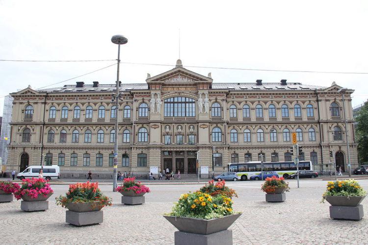 Достопримечательности Финляндии - Художественный музей Атенеум