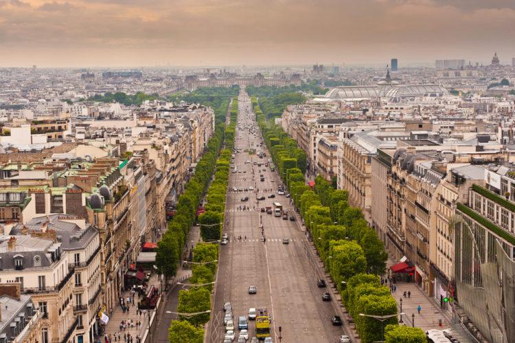 Что посмотреть во Франции - Елисейские поля