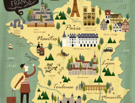 Топ-15 достопримечательностей Франции, которые нужно обязательно посетить