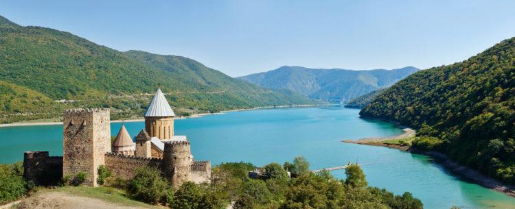 Достопримечательности Грузии - Крепость Ананури
