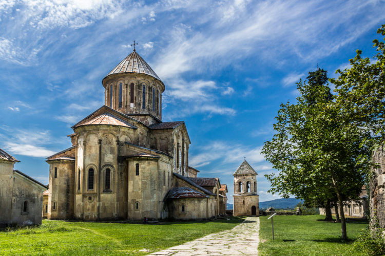 Достопримечательности Грузии - Гелатский монастырь