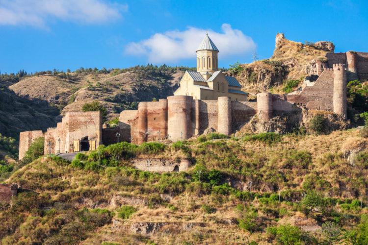 Достопримечательности Грузии - Крепость Нарикала