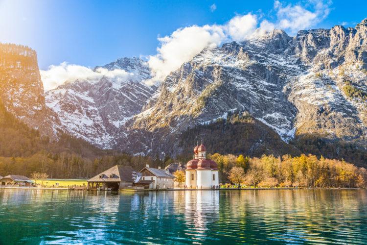 Достопримечательности Германии - Королевское озеро Кёнигсзе