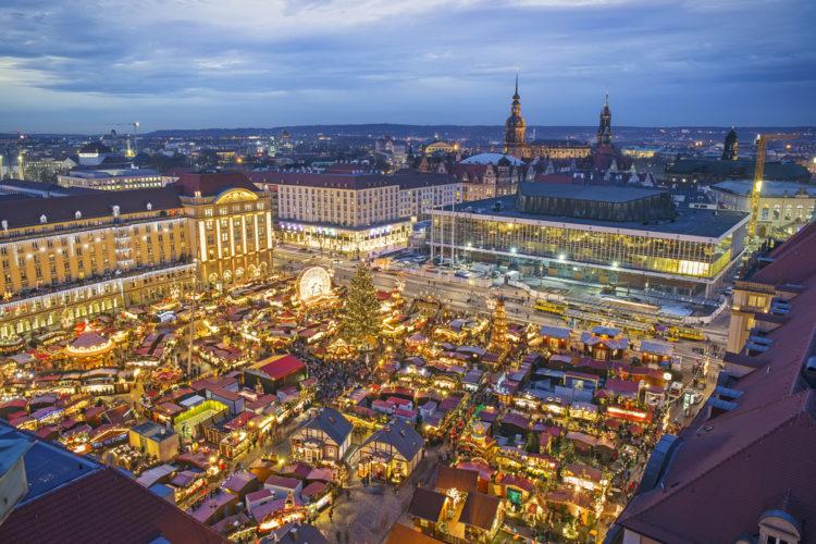 Достопримечательности Германии - Штрицельмаркт