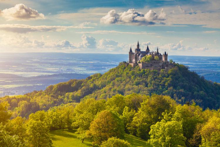 Достопримечательности Германии - Замок Гогенцоллерн