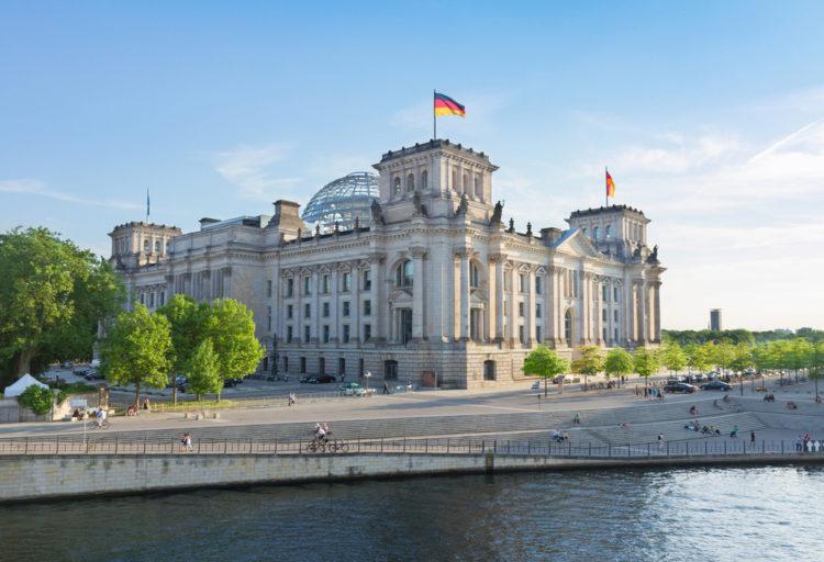 Достопримечательности Германии - Рейхстаг