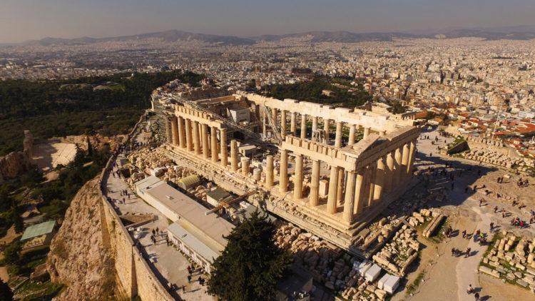 Достопримечательности Греции - Афинский акрополь