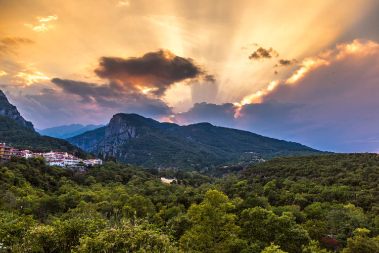 Достопримечательности Греции - Гора Олимп
