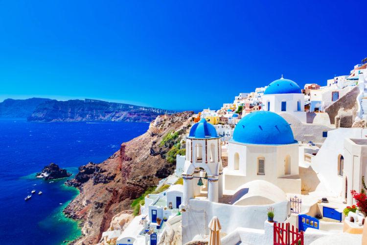 Что посмотреть в Греции - Остров Санторини