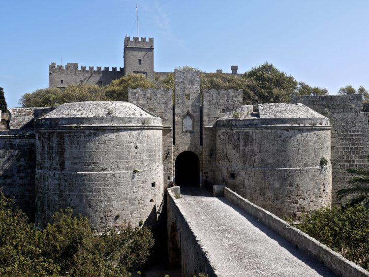 Достопримечательности Греции - Дворец Великих Магистров