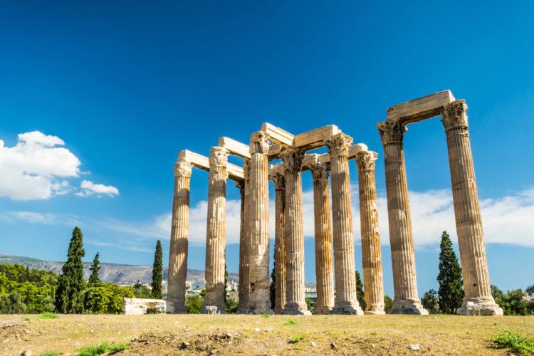 Достопримечательности Греции - Храм Зевса Олимпийского