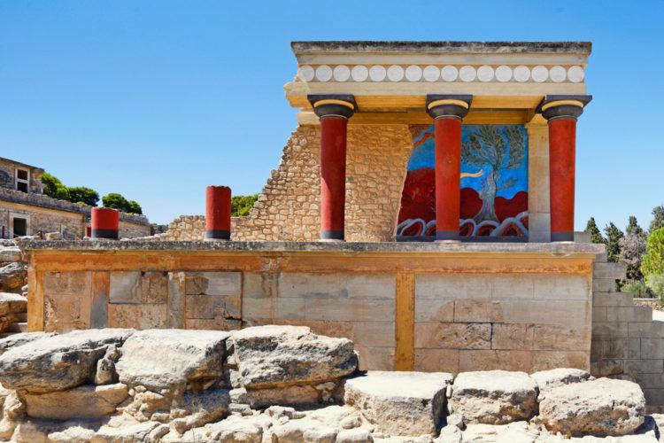 Достопримечательности Греции - Кносский дворец