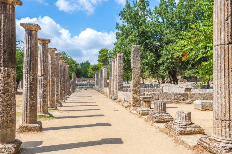 Достопримечательности Греции - Древняя Олимпия