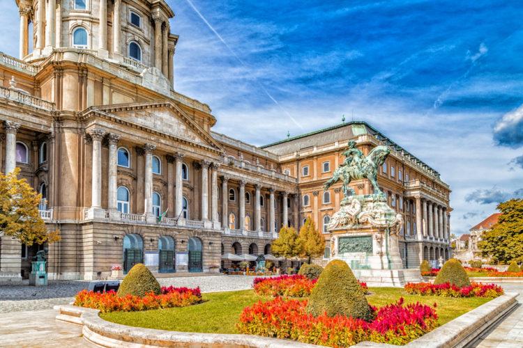 Достопримечательности Венгрии - Замок Буда