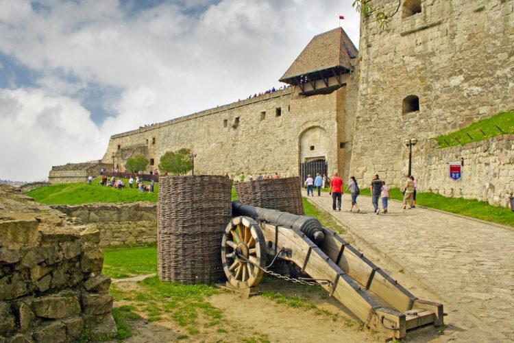 Достопримечательности Венгрии - Замок Эгер