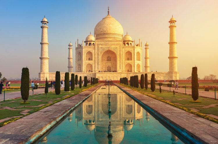 Достопримечательности Индии - Тадж-Махал