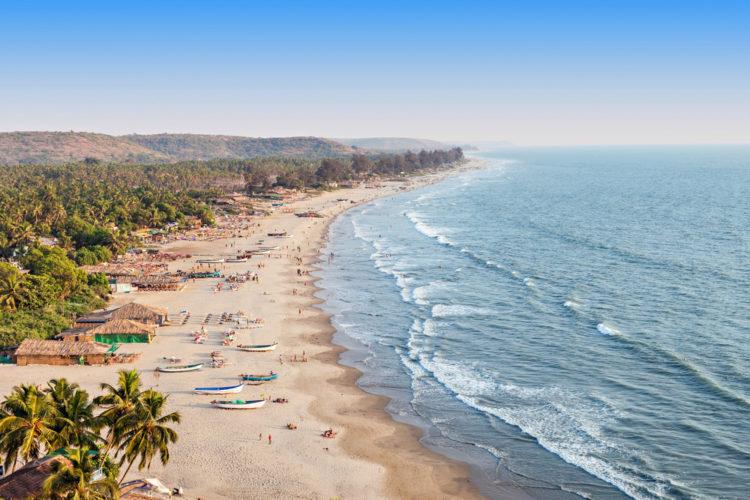 Достопримечательность Индии - Пляж Палолем