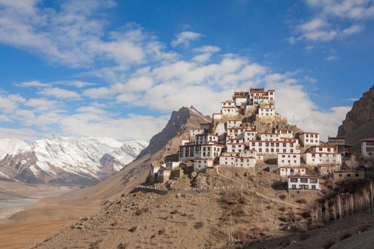 Достопримечательности Индии - Тибетский монастырь Кей Гомпа