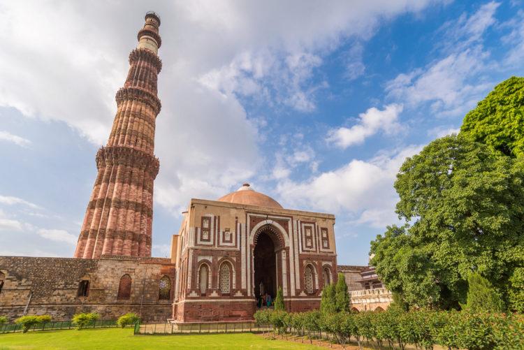 Что посмотреть в Индии - Кутб-Минар