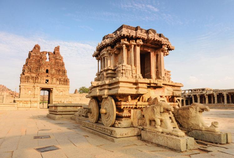 Достопримечательности Индии - Хампи и руины Виджаянагара
